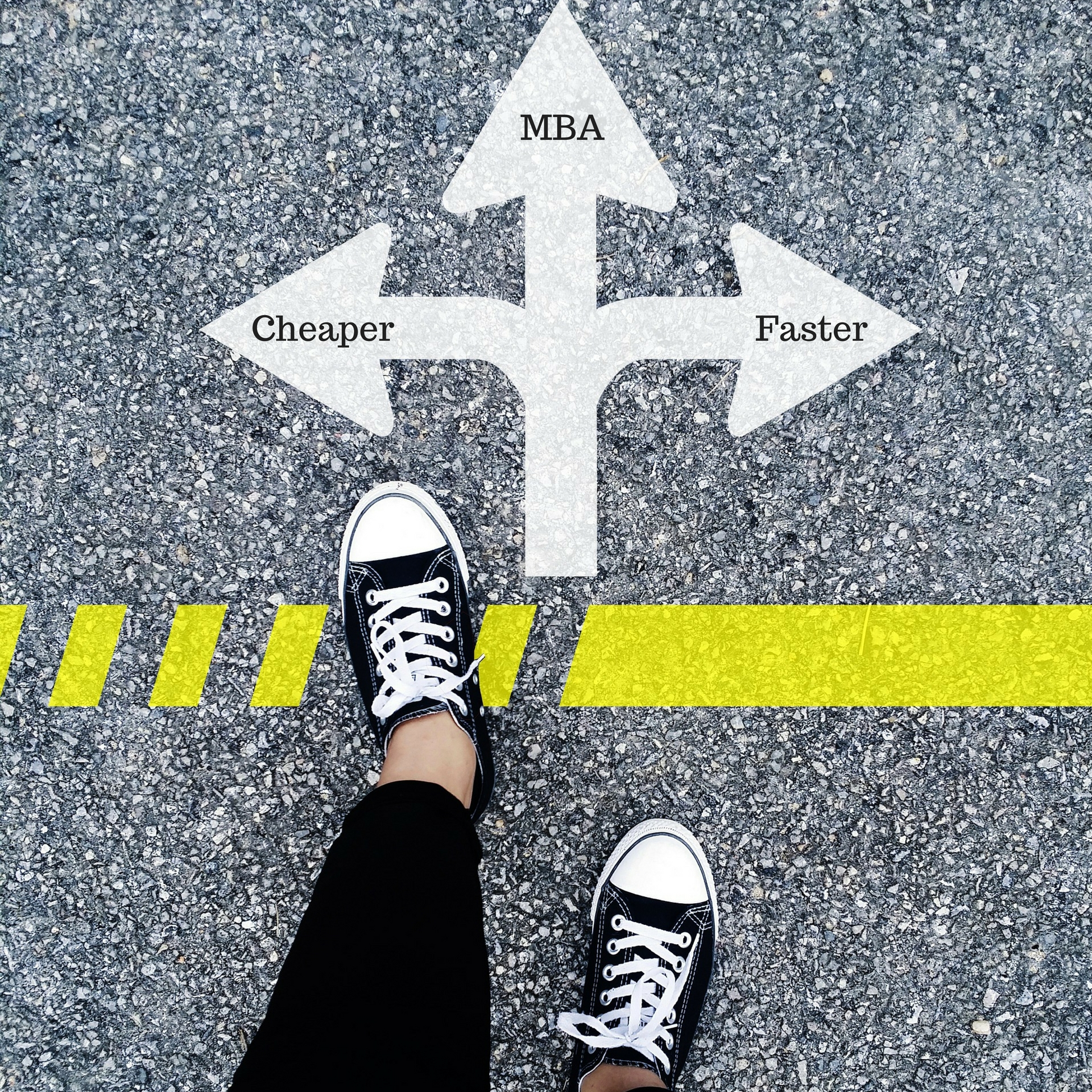 Alternative routes to MBA