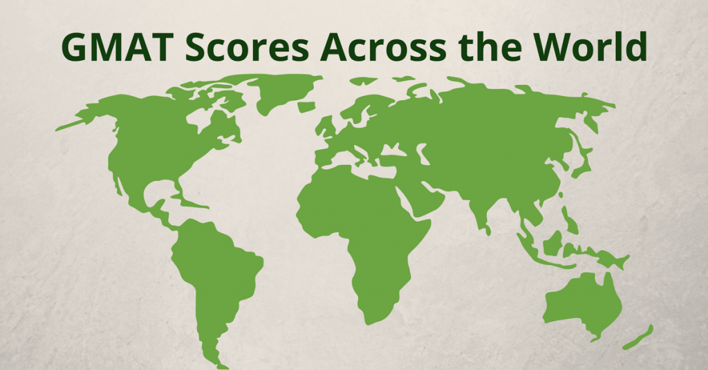 GMAT Scores Across the World
